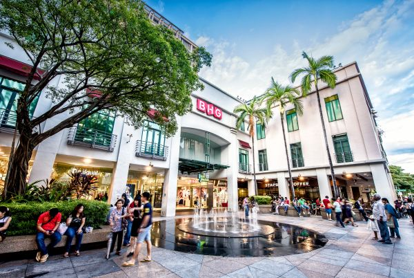 3D2N Singapore Itinerary - Bugis Junction